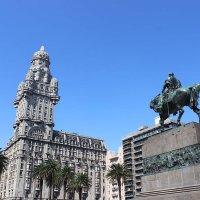 Palacio Salvo in Montevideo, Uruguay